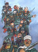 illustration zappe la guerre
